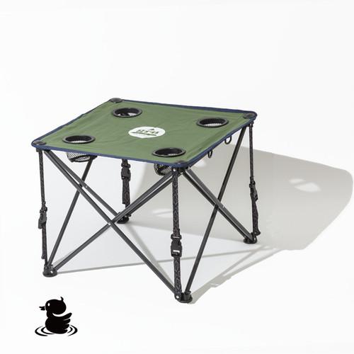 60/40クロス 折りたたみ式 ロースタイルテーブル (GREEN)GG824020TF