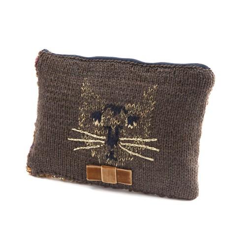 Cat clutch bag