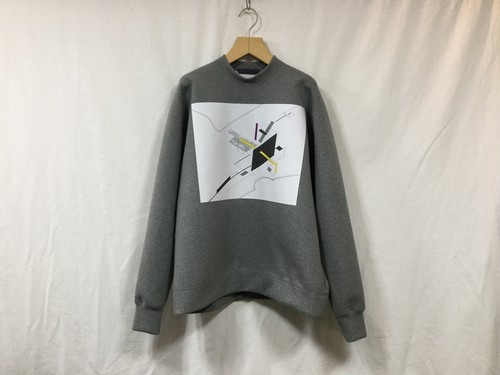 "semoh""graphic sweat gray"""