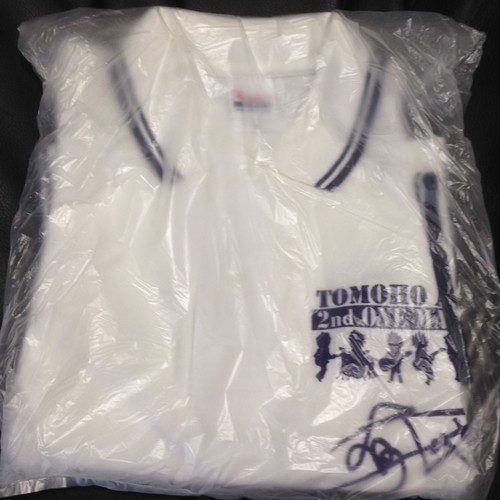 2NDワンマン記念半袖ポロシャツ 白 S&Mサイズ