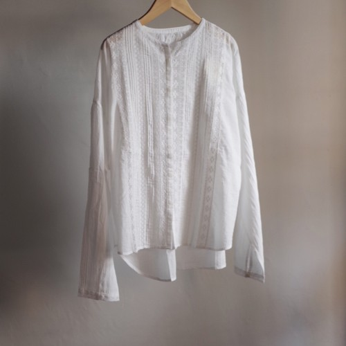 Select Item / Leaver lace Blouse #white / リバーレース ブラウス