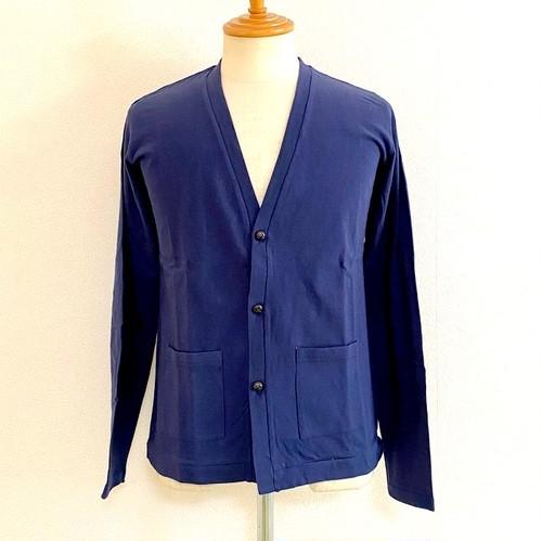 Raffi T-cloth V-neck Cardigan Navy