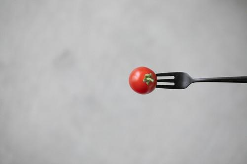 【 96 / Kuro 】黒染めステンレス ケーキフォーク Cake fork 129mm