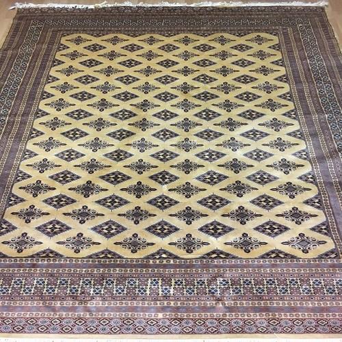《全国送料無料》パキスタン絨毯 248×311 BE