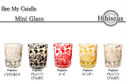 Hibiscus Glass/ S