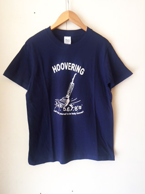 The 5.6.7.8's T-shirt HOOVERING-Navy
