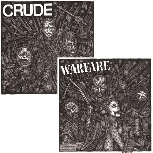 CRUDE:WARFARE / Split (7inch/BTR-105)