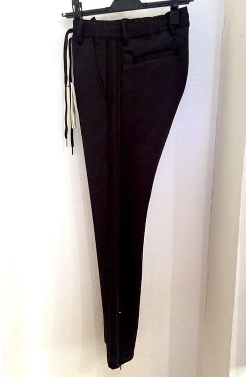 2 Line Jersey Pants(Lady's) Black/Black