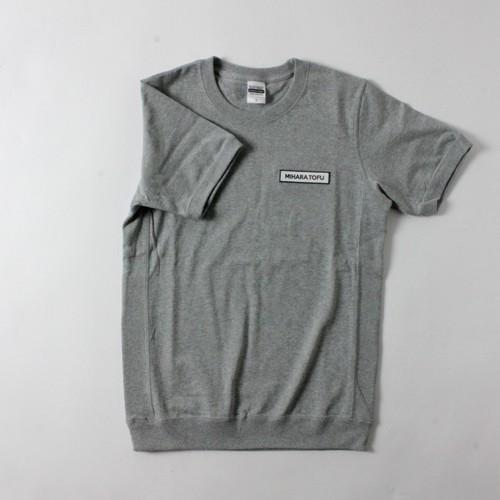 極厚生地MIHARAワッペンTシャツ