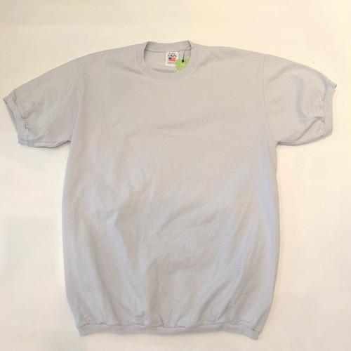 RIB-T-shirts Gray