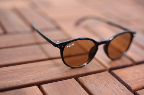 BOSTON FRAME SUNGLASSES(BROWN)