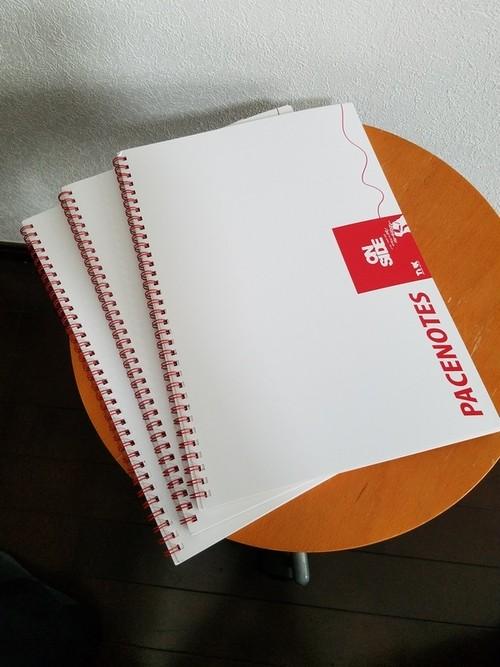 ワンタイムペースノート by TNK pacenote (ON SIDE)