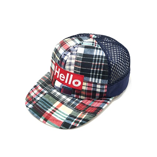 【Mountain Martial Arts】MMA Hello Mesh Cap - Patchwork -