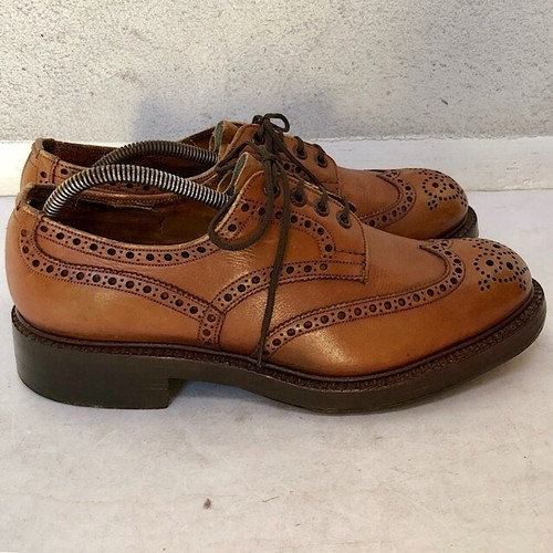1960s Trickers Brouge Shoe Made In Northampton UK7.5