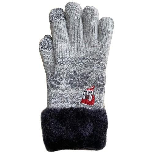 【MOOMIN】ムーミン スマホ対応手袋(ほおづえ/MMAP3876)