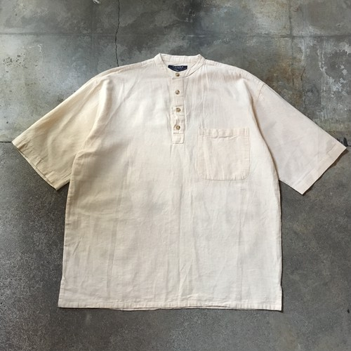 Henry Neck short sleeve shirt