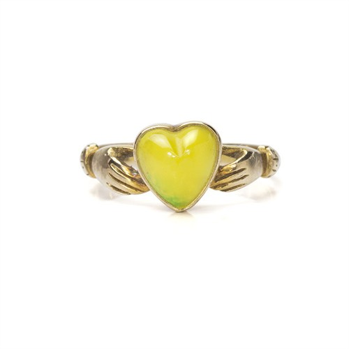 Victorian Claddagh Ring