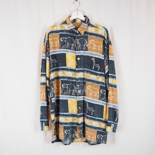 Cotton Graphic L/S Shirt