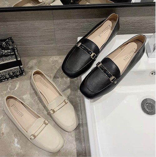 lady nudie loafer 2color