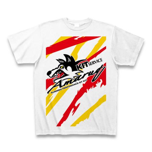 KITservice 2019Tシャツ Amaruq×KIT ホワイト/カラー
