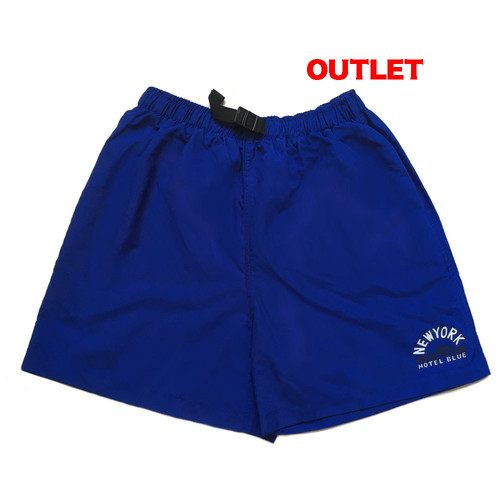 【アウトレット】HOTEL BLUE SKYSCRAPER SHORTS ROYAL サイズXXL
