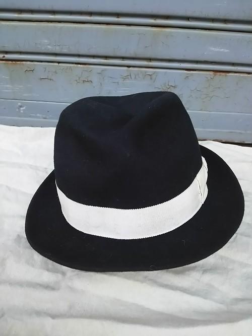ルードギャラリーRUDE GALLERY/ウール/中折れ帽/ハット/黒/