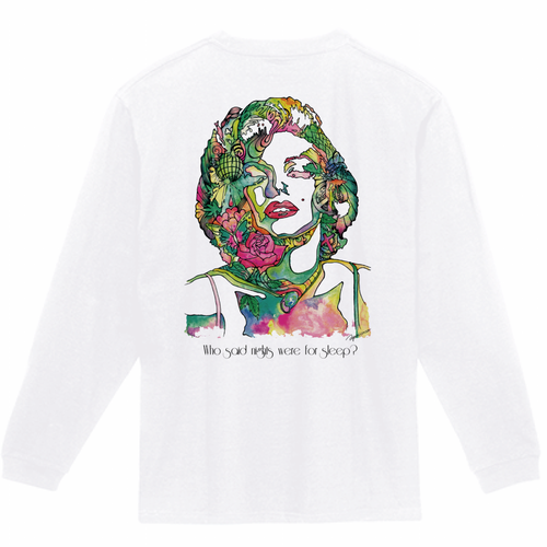 SIGHTRIP Long Sleeve T-shirts【marilyn】