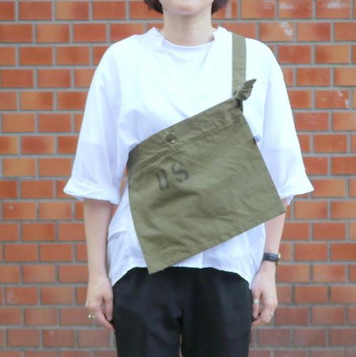 "U.S.Military Tarp Bag ""Stencil"" ①"