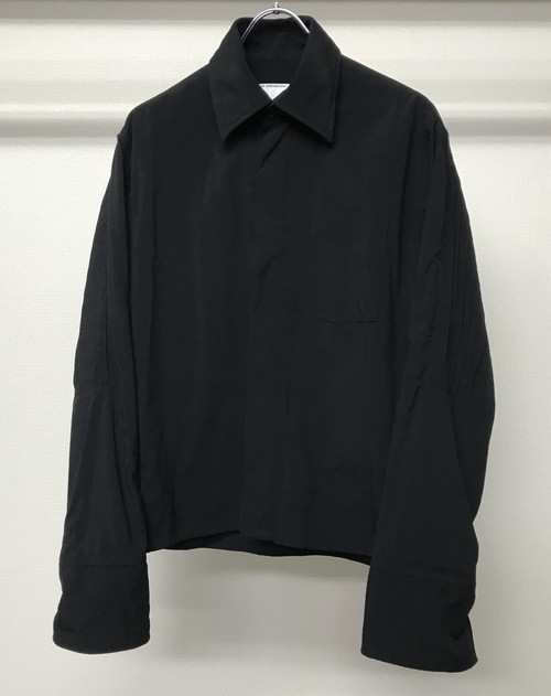 1990s VEXED GENERATION CORDURA NYLON CROPPED PLEATED SHIRT