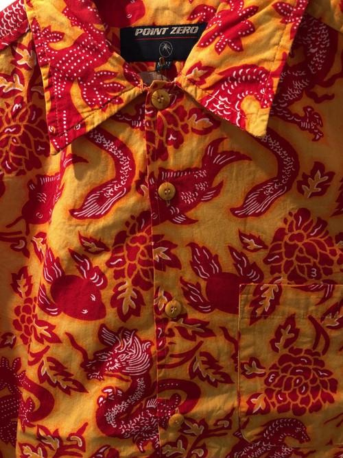 2000's batik hawaiian shirt