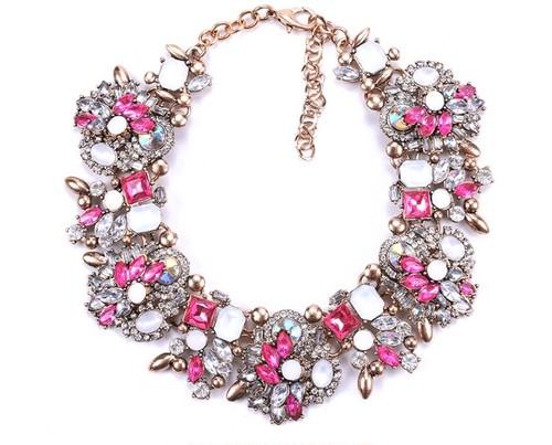 ネックレス hot pink