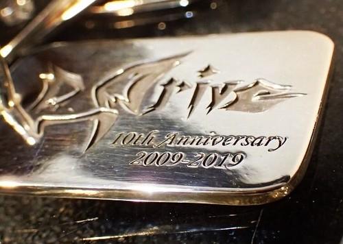 シルバー製 D_Drive 10周年記念ドッグタグ