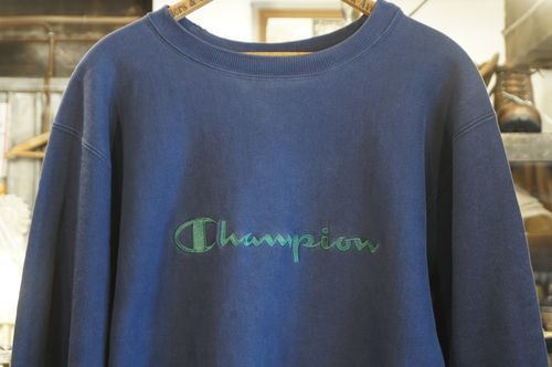 90's Champion embroidered logo reverse weave Sweat