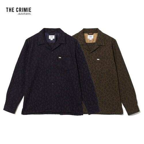 CRIMIE / CR1-02L5-SL11 / LEOPARDO WOOL SHIRT