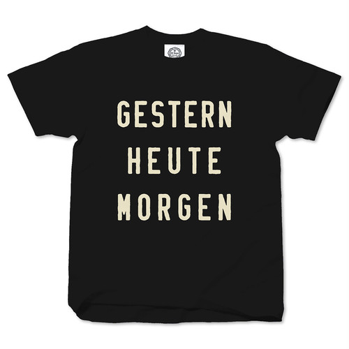 GESTERN HEUTE MORGEN black