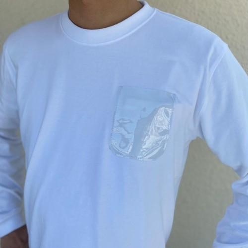 PVCポケットロングTシャツ(クリア/メンズサイズ)