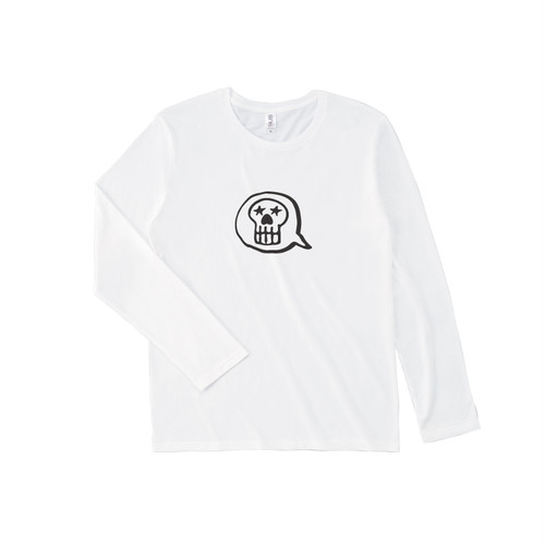 UNFUDGE Longsleeve Tshirts / Printdesign : TM / Color : white