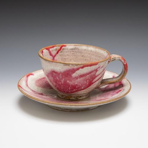 コーヒーカップ流(赤)