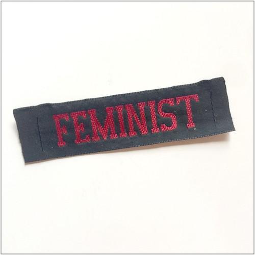 織りネーム / FEMINIST