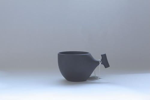4mogu cup M  BLACK(山桜材)