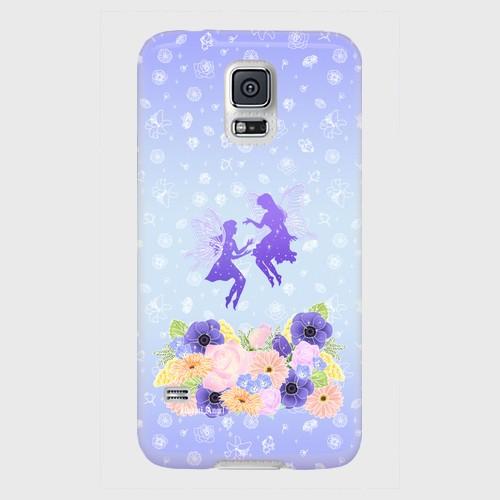 【Galaxyシリーズ】Fairy Magic フェアリー・マジック ツヤありハード型スマホケース