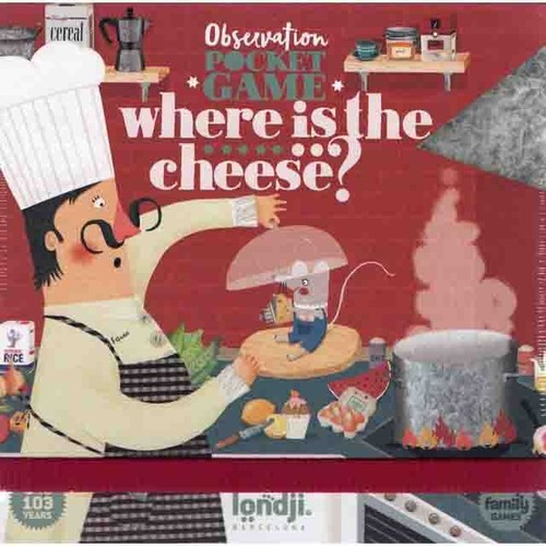 ウェアイズザチーズ?