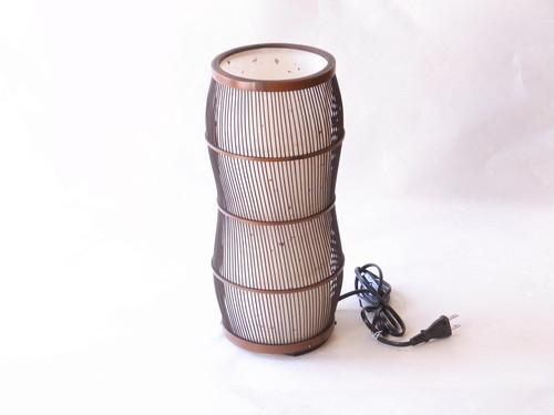 伝統工芸 駿河竹細工 灯り 和風スタンド
