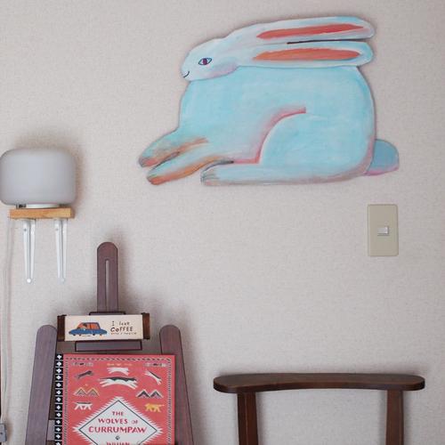 Rabbit craft art