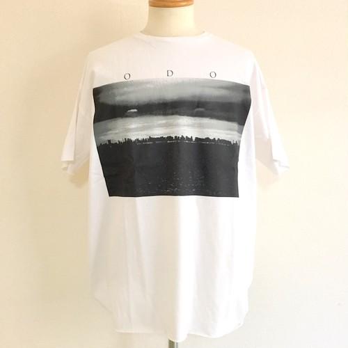 Cotton SODOM Print C/N BIG-T White