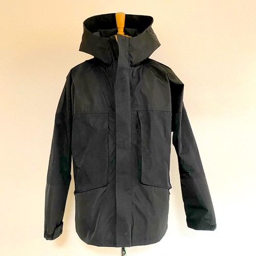 Crack JQ Switch Nylon Hooded Blouson Black