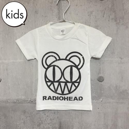 【訳あり】【送料無料 / ロック バンド Tシャツ】 RADIOHEAD / Angry Bear Kids T-shirts S レディオヘッド / キッズ Tシャツ S