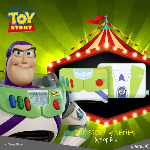 InfoThink ラップトップ Disney トイ・ストーリー4 タブレット PCケース バズ・ライトイヤー iNB(Buzz)