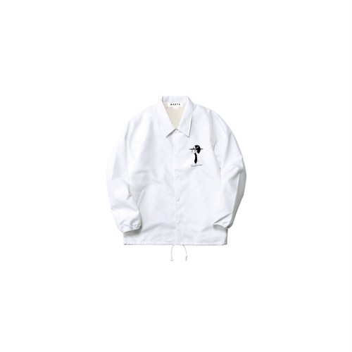 Coach Jacket (White)