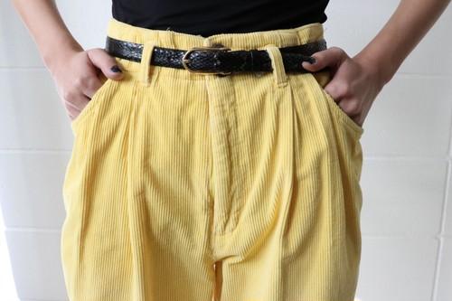 80's corduroy pants